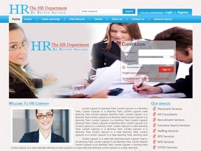 1056 template for HR CMS
